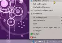 Debian 8.1 KDE桌面安装五笔和拼音输入法