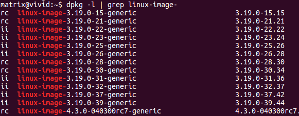 删除旧Linux内核