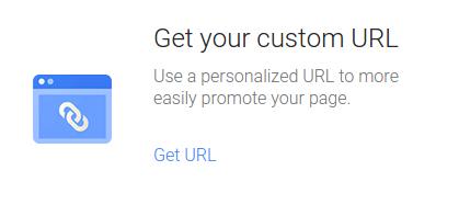 Google Plus主页