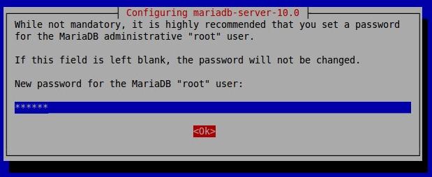 MariaDB root用户密码