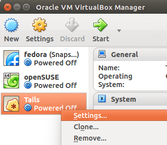 virtualbox虚拟机设置