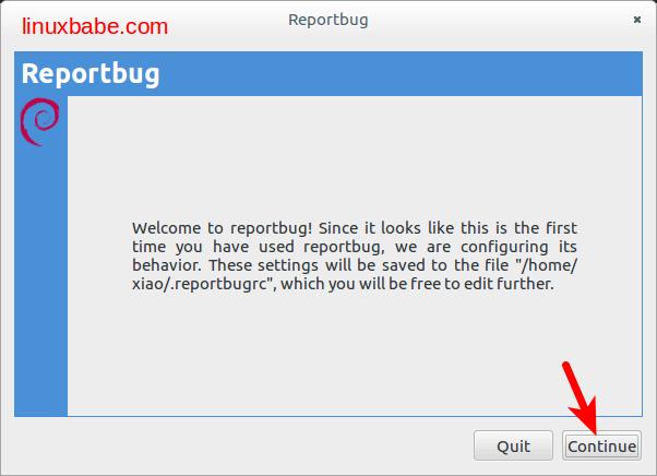 debian reportbug使用方法