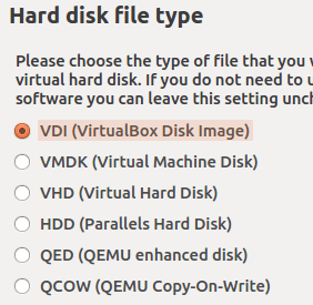 虚拟硬盘的格式