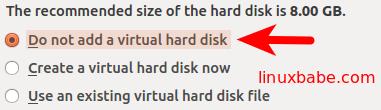 virtualbox创建虚拟硬盘