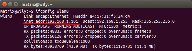 宿主机的IP地址