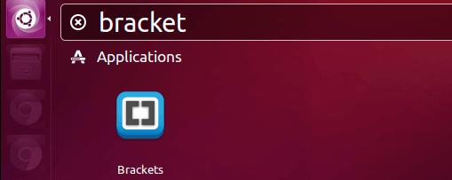 在Dash里打开Bracket编辑器