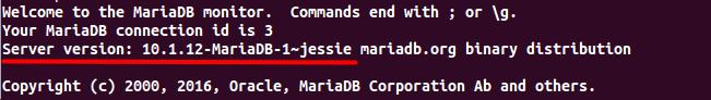 Debian8安装MariaDB10.1
