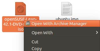 Grub2引导OpenSUSE ISO镜像文件