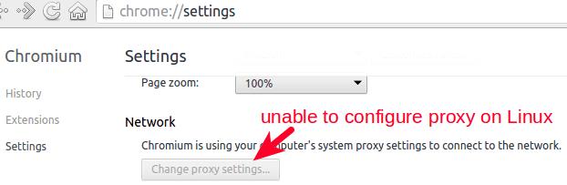 Google Chrome浏览器设置代理