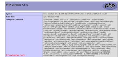 Arch Linux服务器安装LNMP