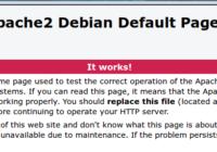 Debian 8搭建LAMP环境(Apache MariaDB PHP7)