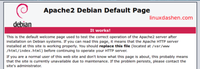 Debian 8搭建LAMP