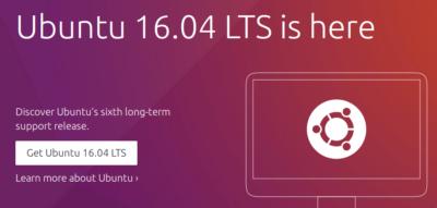 解读Ubuntu 16.04 LTS新特性以及具体升级步骤