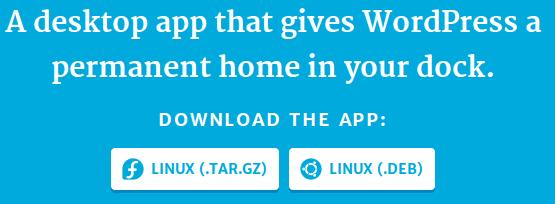 Linux系统安装WordPress.com Desktop App