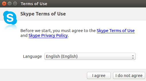 Ubuntu 16.04 LTS安装Skype