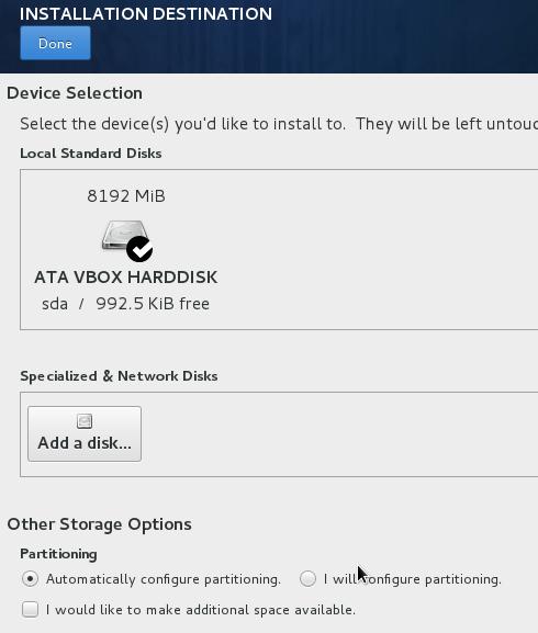 使用anaconda安装CentOS7系统