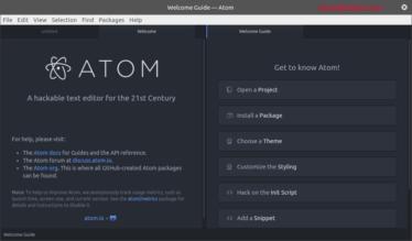 Atom编辑器 1.7.0发布, Debian/Ubuntu/Arch/Fedora/OpenSUSE如何安装