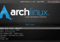 KVM虚拟化VPS如何安装Arch Linux