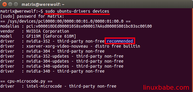 Ubuntu如何正确地切换Intel和Nvidia显卡